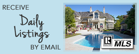 Receive MLS Daily Listings by email